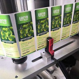 Детаљи аутоматске двостране машине за етикетирање са предње и задње стране
