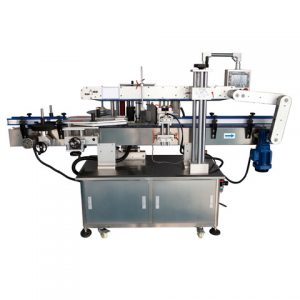Automatic Beer Glass Bottle Cold Glue Labeling Machine
