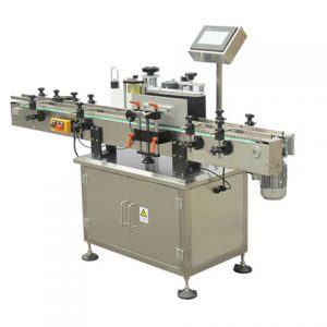 Adhesive Sticker Automatic Adhesive Pail Labeling Machine