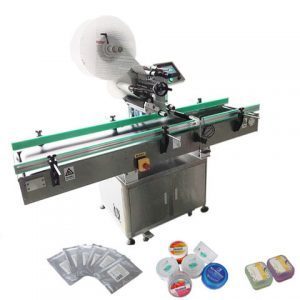 Full Automatic Cosmetic Bottle Self Adhesive Labeling Machine