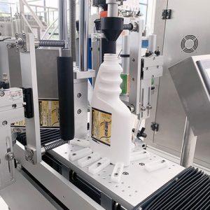 Аутоматска машина за етикетирање канта за уље за подмазивање