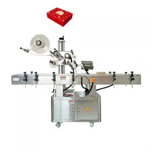 Round Bottle Double Side Label Applicator