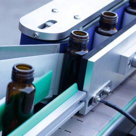 Детаљи аутоматске вертикалне машине за етикетирање налепница са округлом боцом